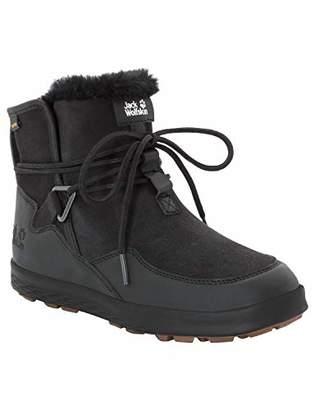 Jack Wolfskin Auckland WT Texapore Boot Women's Waterproof Fleece Lined Winter Chukka Sneaker Black
