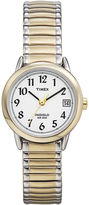Timex Easy Reader Womens Two-Tone Stainless Steel Expansion Bracelet Watch T2H4919J