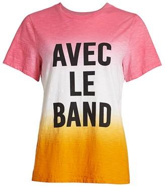 Cinq à Sept Dip-Dye Avec Le Band T-Shirt