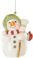 Lenox Blinking Light Snowman Ornament