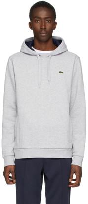 Lacoste Grey Classic Logo Hoodie