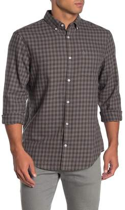 Original Penguin Gingham Print Long Sleeve Slim Fit Shirt