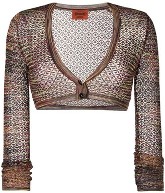 Missoni Pre Owned 1990s Knitted Buttoned Bolero