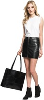 LAMARQUE - Farrah Leather Mini Skirt