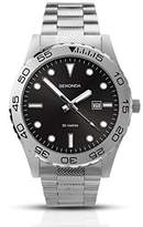 Sekonda Men's Quartz Watch with Black Dial Analogue Display and Silver Stainless Steel Bracelet 1133