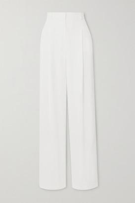 Paul & Joe Notting Hill Pleated Crepe Wide-leg Pants - Off-white
