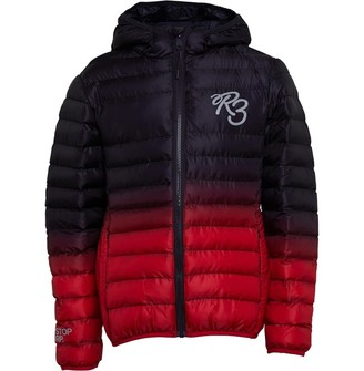 Ripstop Boys Appeton Jacket Navy/Red