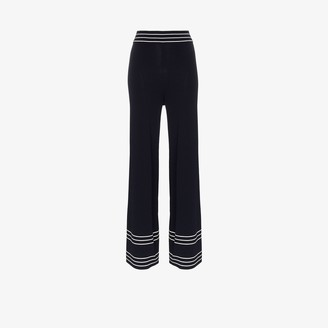 ODYSSEE Striped Knitted Trousers