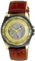 August Steiner Men's CN002G-AS Round Buffalo Nickel Collectors Gold Coin Watch