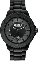 Versus By Versace Men's Tokyo Black Silicone Strap Watch 42mm SOY010015
