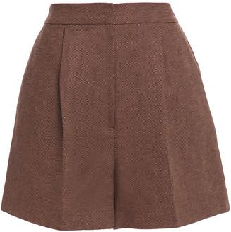 LVIR Linen And Cotton-blend Canvas Shorts