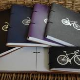 STUDY Artbox Leather Bound Bicycle Journal