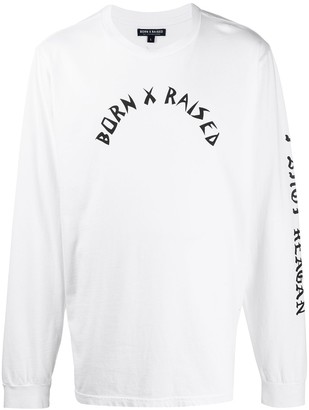 Bornxraised The Gipper long-sleeved T-shirt