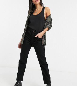 Reclaimed Vintage The '91 mom jeans in washed black