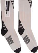Prada Pink Logo Socks