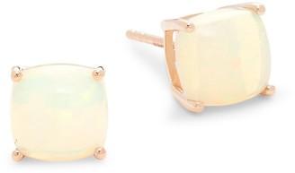 Effy 14K Rose Gold & Ethiopian Opal Stud Earrings