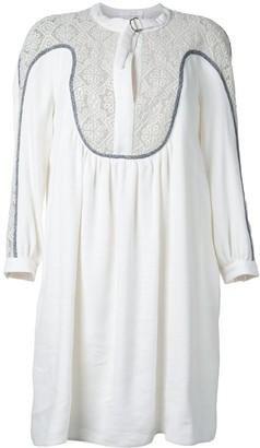 Chloé Guipure Insert Dress