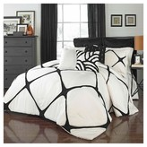 Vue Cersei Fashion Comforter Set King Ivory 3 Piece