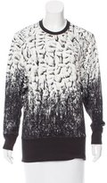 Helmut Lang Abstract Print Crew Neck Top w/ Tags
