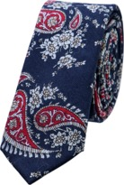 yd. Cotton Paisley Tie