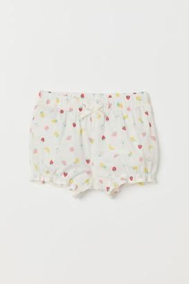 H&M Puff Pants - White