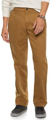 Men's Urban Pipeline Relaxed Straight-Leg Chino Pants
