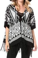 Miss Me Autumn Breeze Poncho