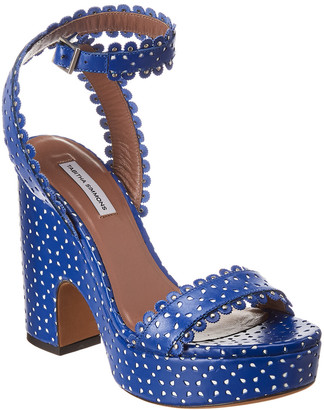 Tabitha Simmons Harlow Perforated Leather Sandal