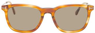 Tom Ford Tortoiseshell Arnaud Sunglasses