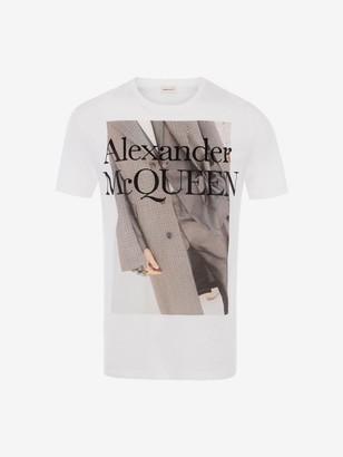Alexander McQueen Atelier Print T-Shirt