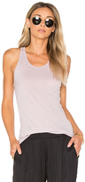 Enza Costa Racer Tank in Lavender. - size 1 / S (also in 2 / M,3 / L)