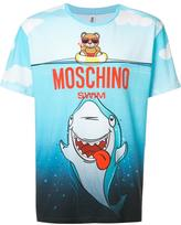 Moschino teddy and shark T-shirt - men - Cotton - M
