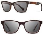 Shwood Men's 'Canby' 53Mm Polarized Sunglasses - Espresso/ Elm/ Grey