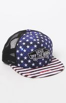 Vans Classic Patch Snapback Trucker Plus Hat