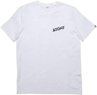 &Sons Trading Co Logo Mens T-Shirt White