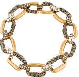 Oscar de la Renta Large Chain Link Necklace