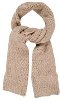 Dries Van Noten Wool Knit Scarf