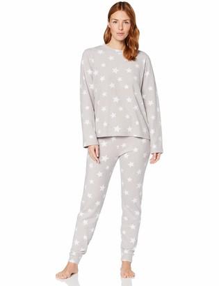 Iris & Lilly Women's Fleece Pyjama Set