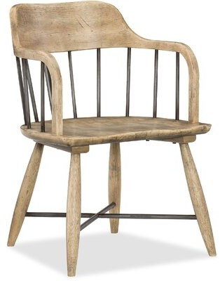 Hooker Furniture Urban Elevation Low Windsor Dining Chair (Set of 2