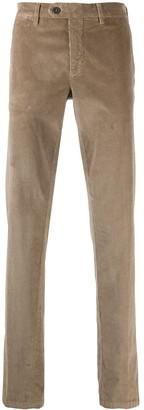 Canali Straight-Leg Corduroy Trousers