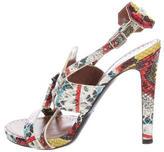 Proenza Schouler Embossed Splatter Sandals