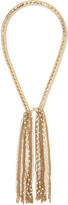 Rosantica Diluvio gold-tone pearl necklace