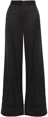 Just Cavalli Satin-crepe Wide-leg Pants