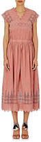 Ulla Johnson Women's Savannah Midi-Dress-PINK