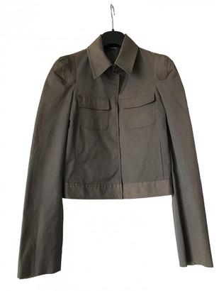 Martine Sitbon Khaki Cotton Jacket for Women Vintage