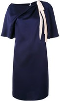 Lanvin neck tie dress - women - Silk/Acetate/Viscose - 40
