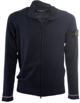 Stone Island Zipped Sweatshirt