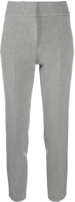 Peserico High-Waisted Cropped Trousers