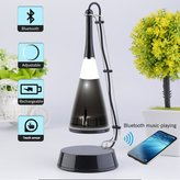 YHJ Touch Sensor LED Lamp Rechargeable with Built-in Bluetooth Speaker, Sound Activated Music Light. Night Night Photograph Mood Moonlight Woman Moon - Max Pixel