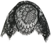 Maison Michel lace veil hairband - women - Polyamide/Polyester/Modal/Brass - One Size